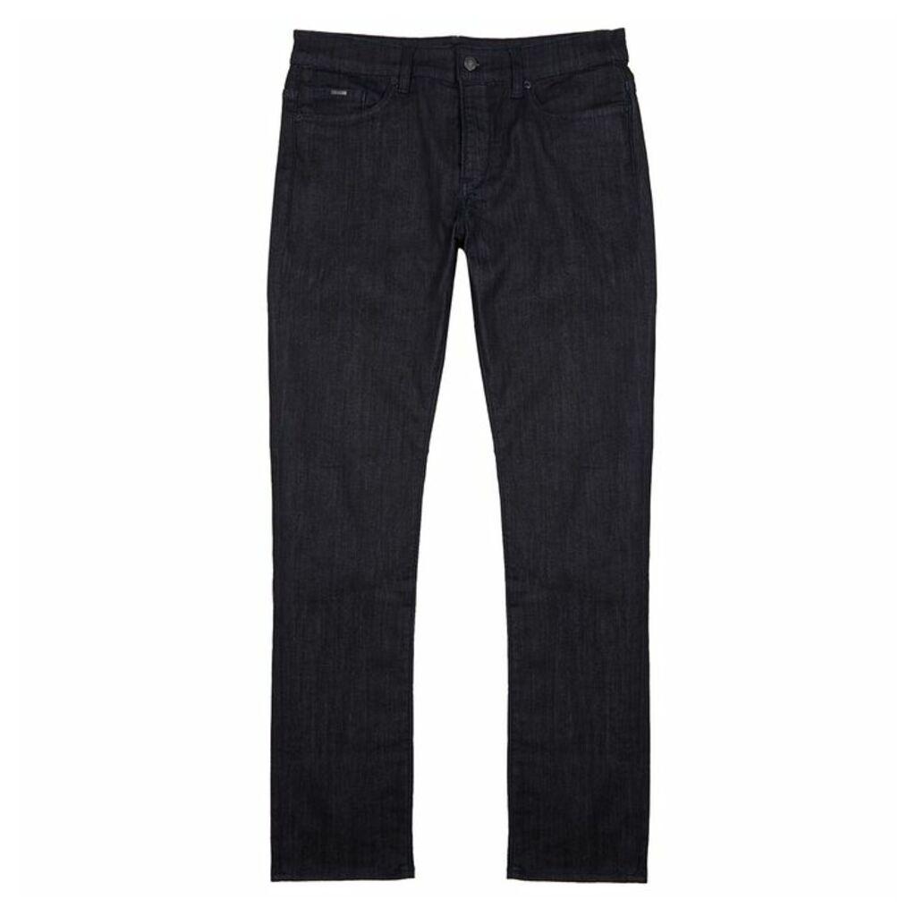 HUGO Delaware Indigo Slim-leg Jeans