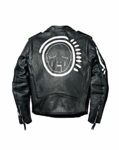 Patrick Church All Over You Hand-Painted Leather Moto Jacket - 100% Exclusive