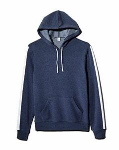 Alternative Stripe-Trimmed Hooded Sweatshirt - 100% Exclusive