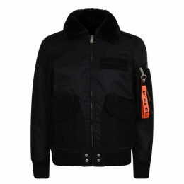 Diesel Jeans Collar Bomber Jacket