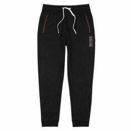 BOSS Black Cotton-blend Sweatpants