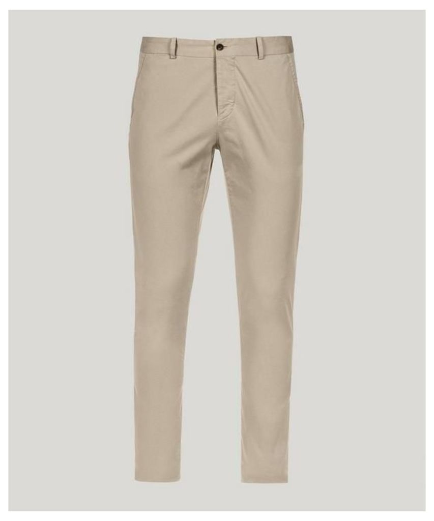 Driver Cotton Chino Trousers