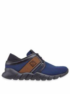 Fendi tech fabric sneakers - Blue
