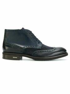 Baldinini contrast panel ankle boots - Cavallo Blu