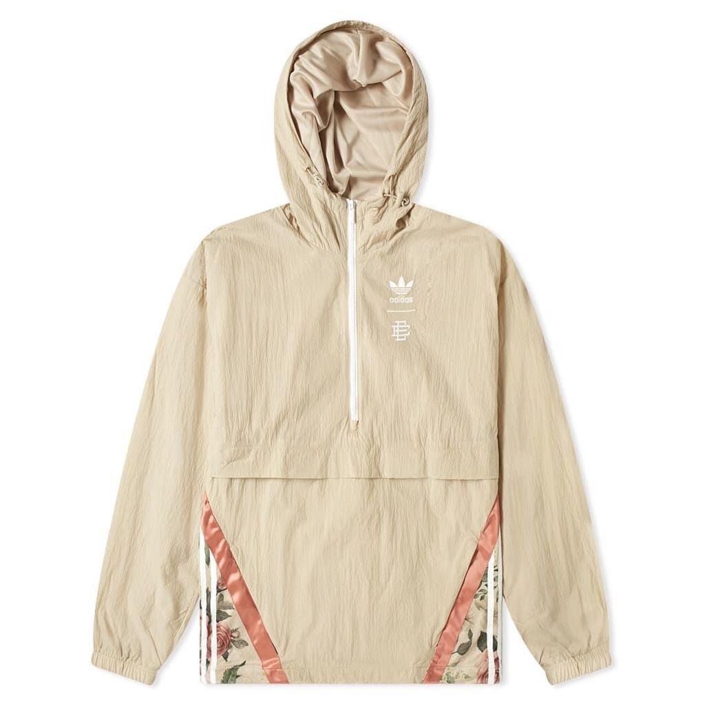 Adidas x Eric Emanuel Popover Jacket Khaki