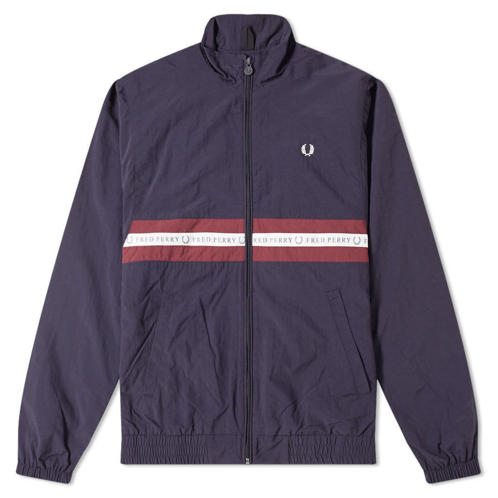 Fred Perry Sports Taped Shell Jacket Navy