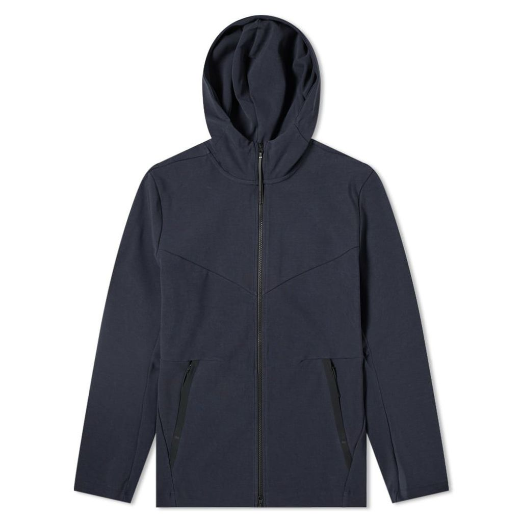 Nike Tech Pack Full Zip Hoody Dark Obsidian & Black