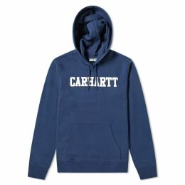 Carhartt Hooded College Sweat Blue & White