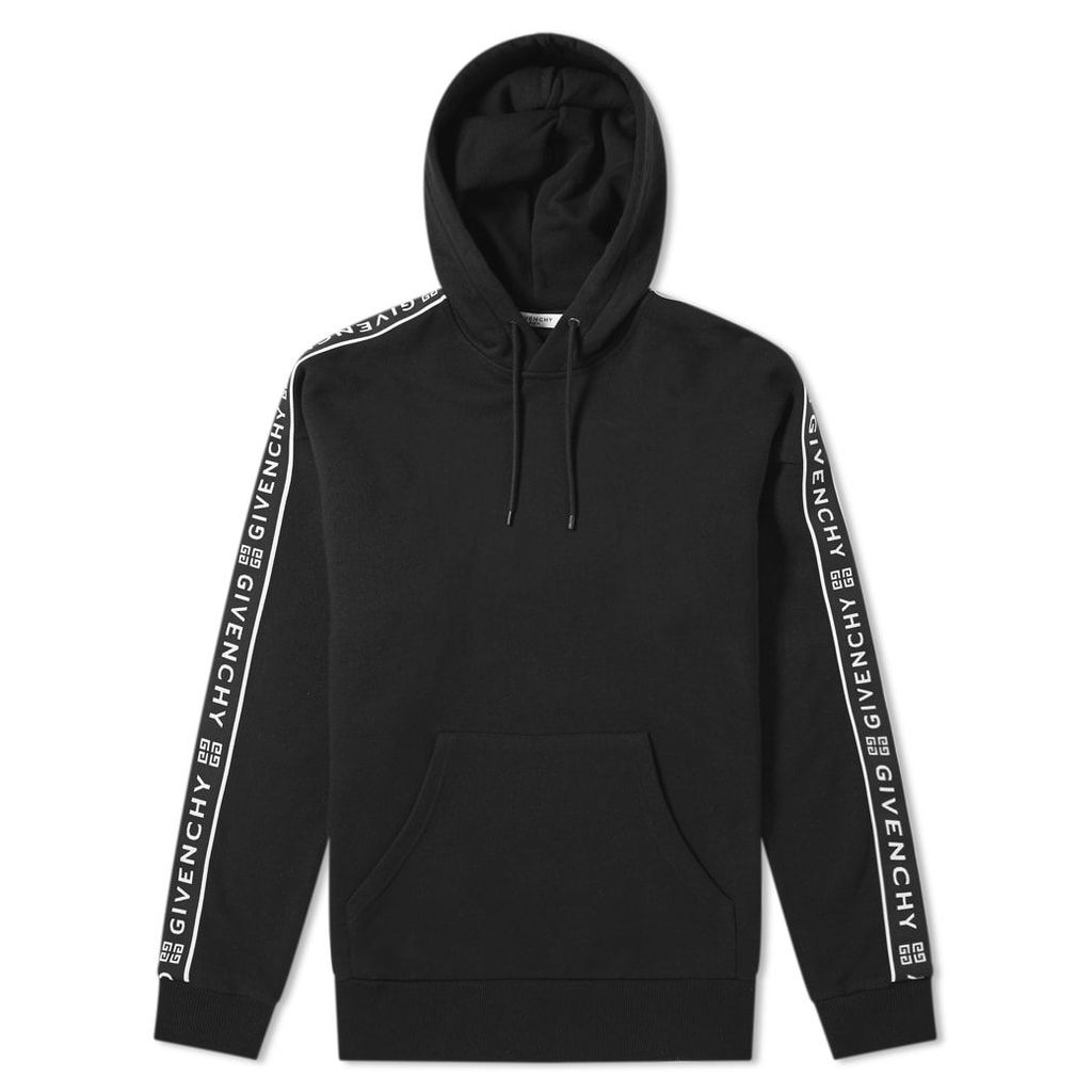 Givenchy Taped Sleeve Hoody Black