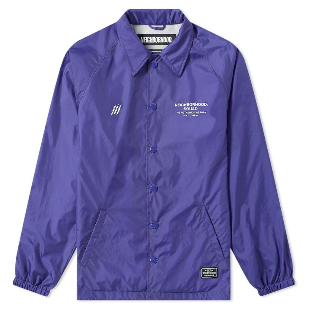 Neighborhood Brooks Jacket Purple