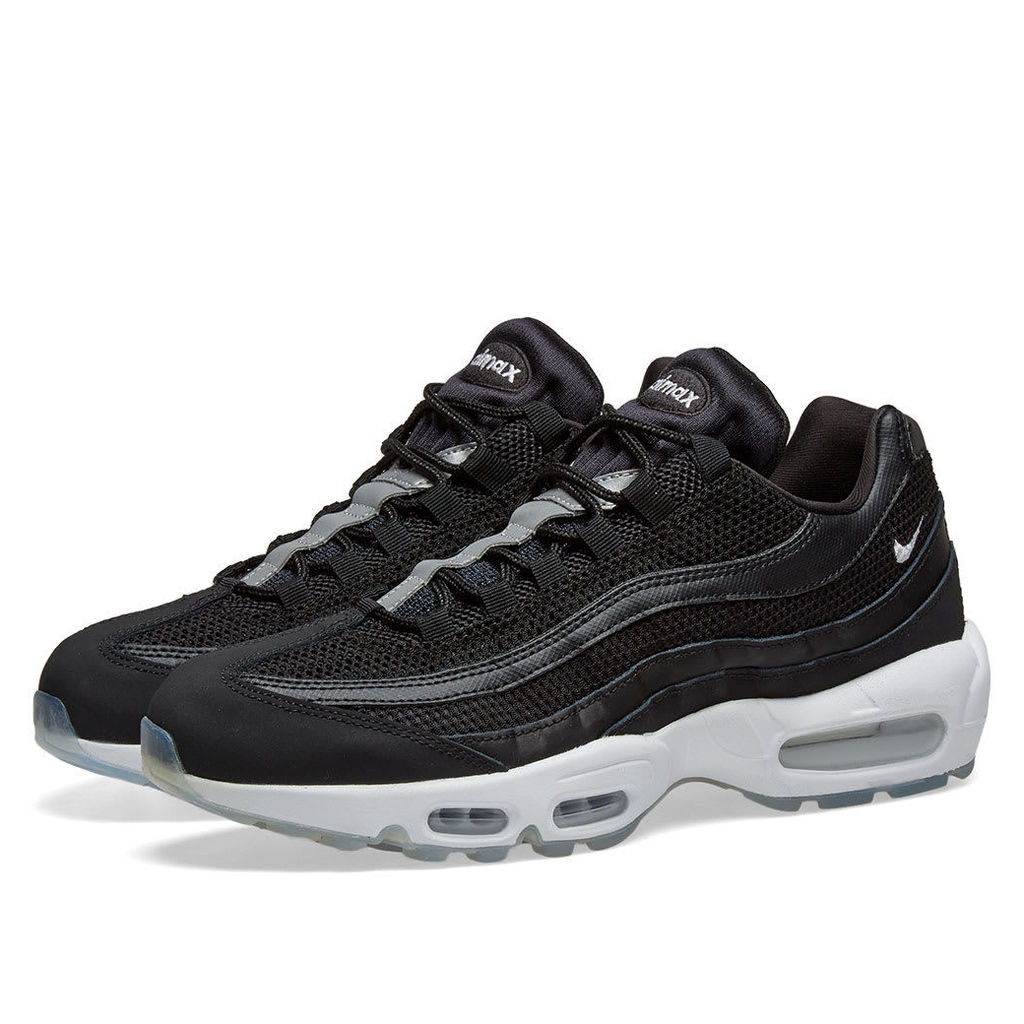 Nike Air Max 95 Essential Black, White & Reflect Silver