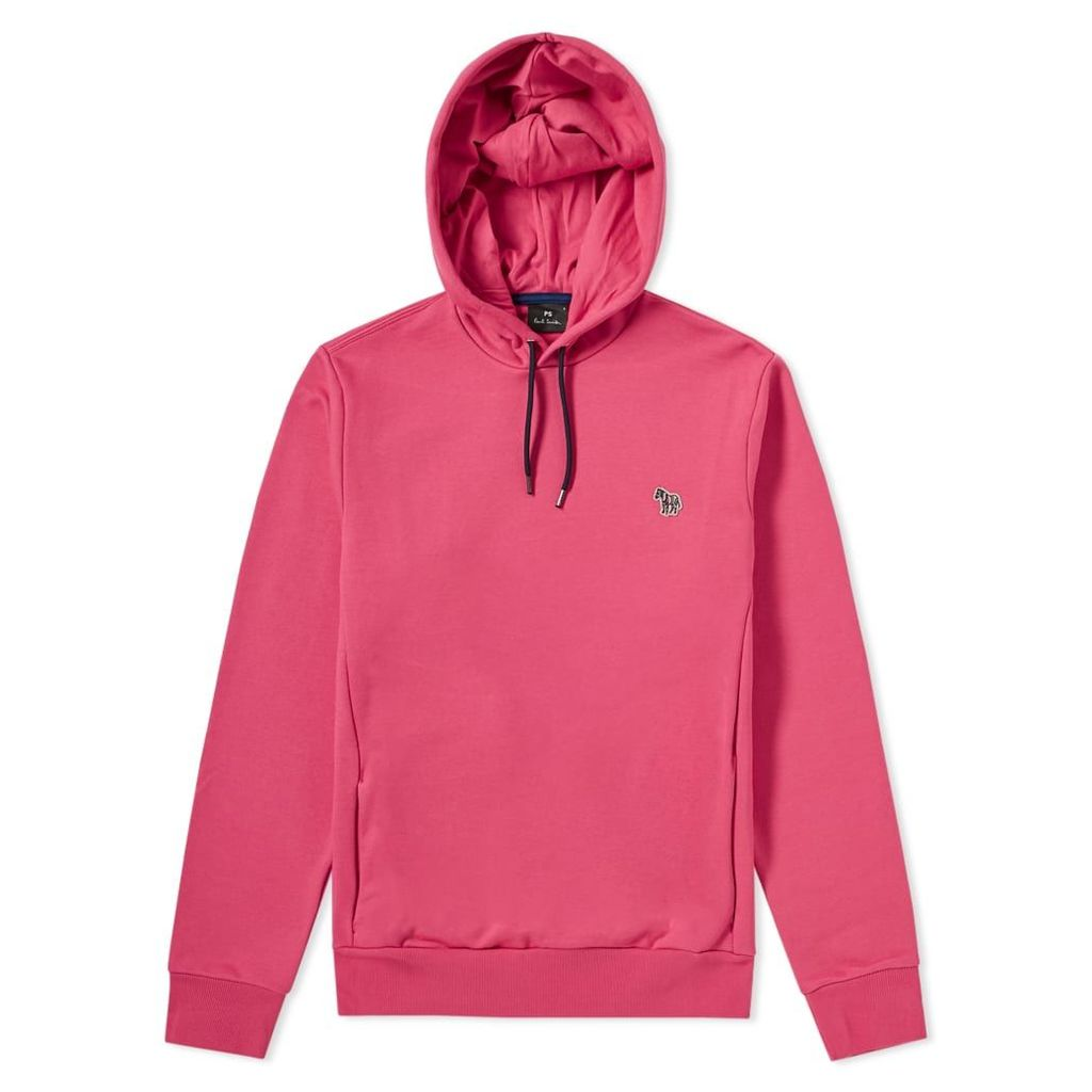 Paul Smith Zebra Popover Hoody Fuchsia