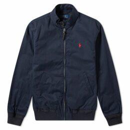 Polo Ralph Lauren Cotton Harrington Jacket Aviator Navy