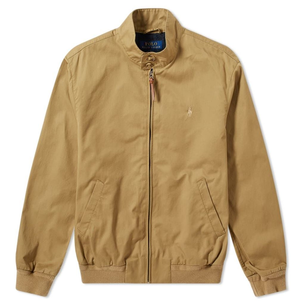 Polo Ralph Lauren Cotton Harrington Jacket Luxury Tan