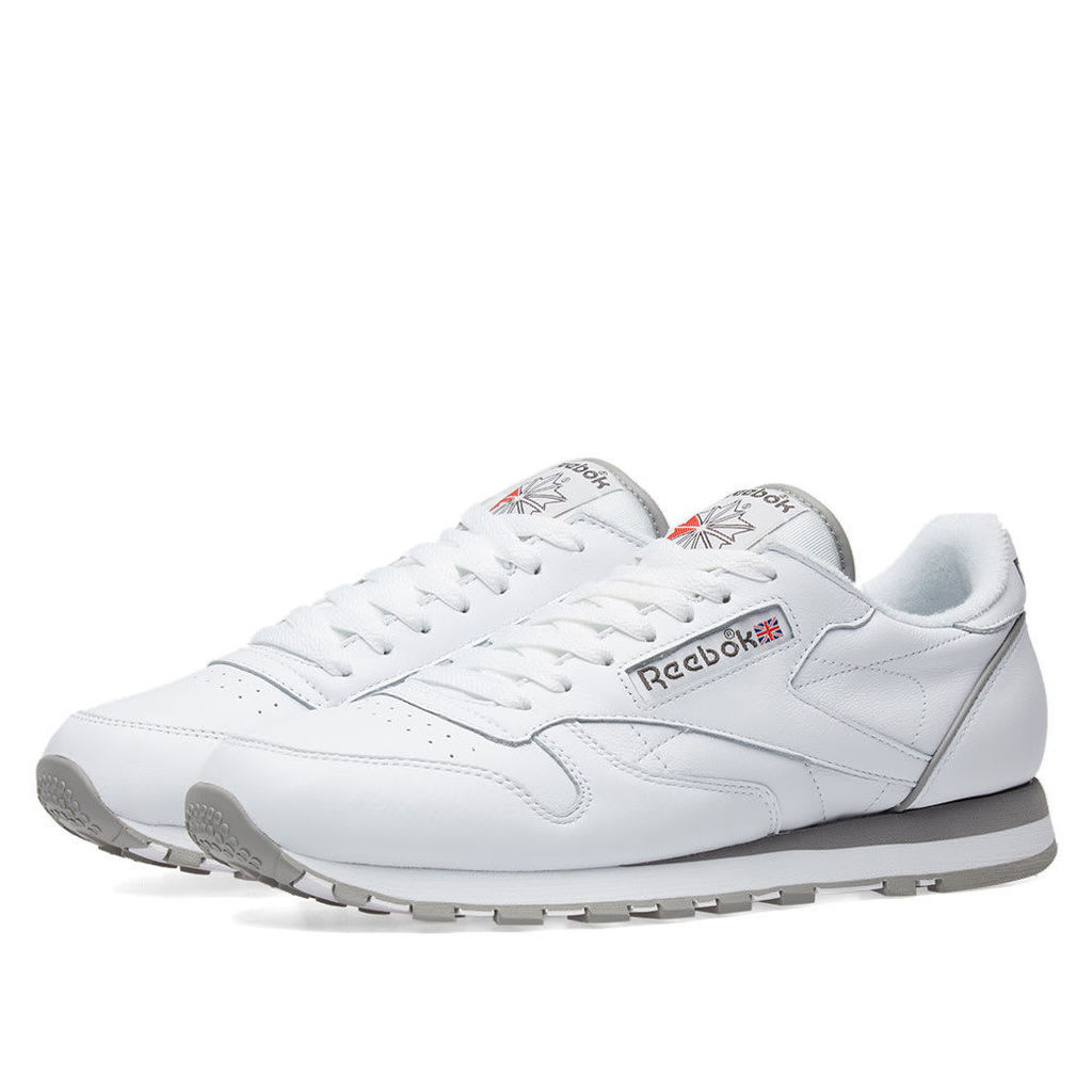 Reebok Classic Leather Archive Pack White, Carbon, Red & Grey