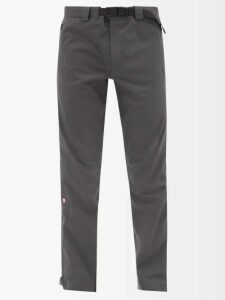 Martine Rose - Leopard Faux Fur Basketball Trainers - Mens - Brown Multi