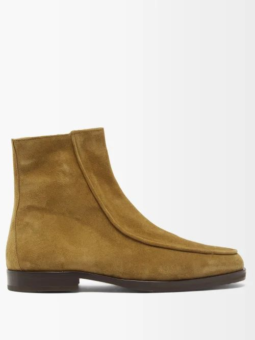 Paul Smith - Cotton Blend Twill Trousers - Mens - Beige