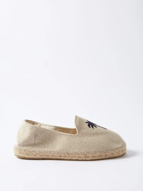 Paul Smith - Tapered Leg Checked Wool Trousers - Mens - Navy Multi