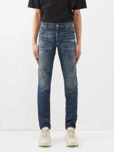 Valentino - Contrast Side Stripe Track Pants - Mens - Black