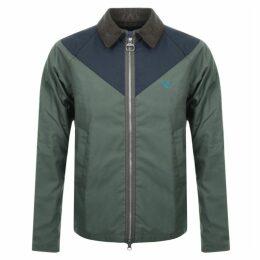 Barbour Beacon Broad Wax Jacket Green