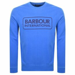 Barbour International Crew Neck Sweatshirt Blue