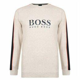 Boss Bodywear Panelled Logo Sweatshirt