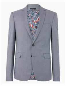 M&S Collection Blue Slim Fit Jacket