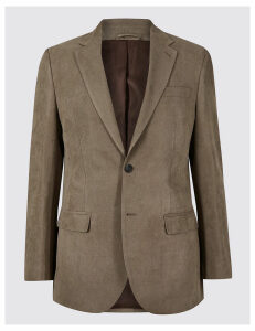 M&S Collection Textured Regular Fit Jacket