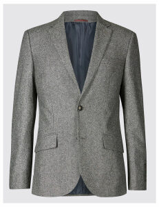 M&S Collection Big & Tall Textured Slim Fit Jacket