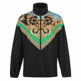 Versace Baroque Funnel Neck Jacket