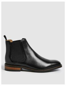 M&S Collection Leather Chelsea Boots
