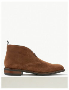 M&S Collection Suede Lace-up Chukka Boots