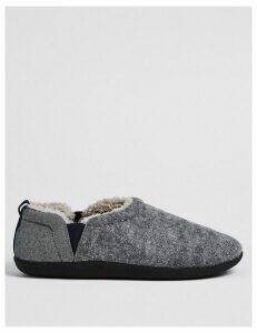 M&S Collection Slip-on Slippers with Freshfeet