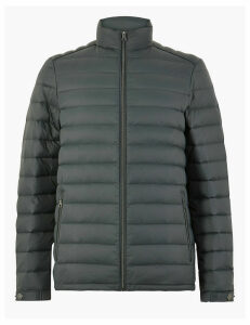 M&S Collection Down & Feather Puffer Jacket with Stormwear