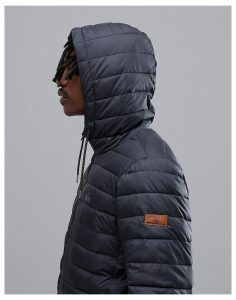 Quiksilver Scaly Hooded Jacket in Black
