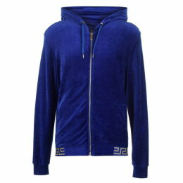 Versace Icon Velour Zip Sweatshirt