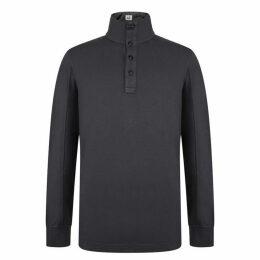 CP Company Button Long Sleeve Sweatshirt