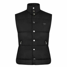 Dolce and Gabbana Logo Plated Gilet