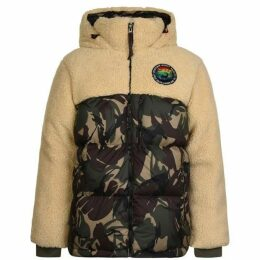Polo Ralph Lauren Camouflage Panelled Down Jacket