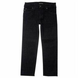 Emporio Armani Rinse Wash Regular Fit Jeans