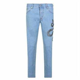 Just Cavalli Snake Jeans