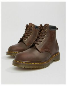 Dr Martens 939 6-eye boots in brown