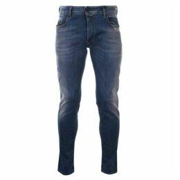 Diesel Jeans Skinny Repair Mens Jeans