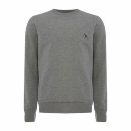 PS by Paul Smith Paul  Zebra Crew Sweatshirt Mens