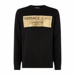 Versace Jeans Couture VJ Metallic Print SwtSn84