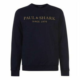 Paul And Shark 1976 Logo Sweater Mens
