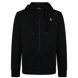 Marcelo Burlon Heart Wing Zip Hooded Sweatshirt