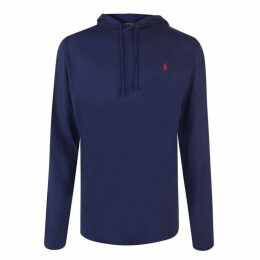 Polo Ralph Lauren Polo Mens Long Sleeved Logo Hooded T Shirt