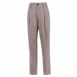 Vivienne Westwood Wool Checked Trousers