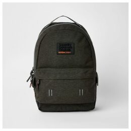 Mens River Island Superdry dark Grey backpack